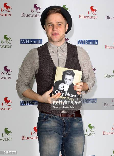 Olly Murs meets fans and signs copies of his book 'Happy Days' at WHSmith Bluewater on October 29 2012 in Greenhithe England