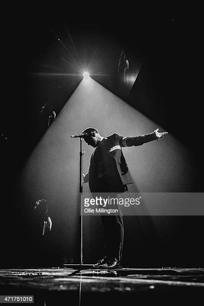 Olly Murs performs at Nottingham Capital FM Arena on April 30, 2015 in Nottingham, England.
