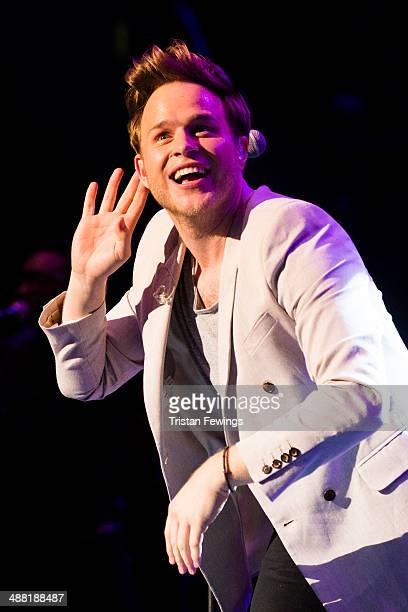 Olly Murs performs at the Rays of Sunshine charity concert at Royal Albert Hall on May 4 2014 in London England