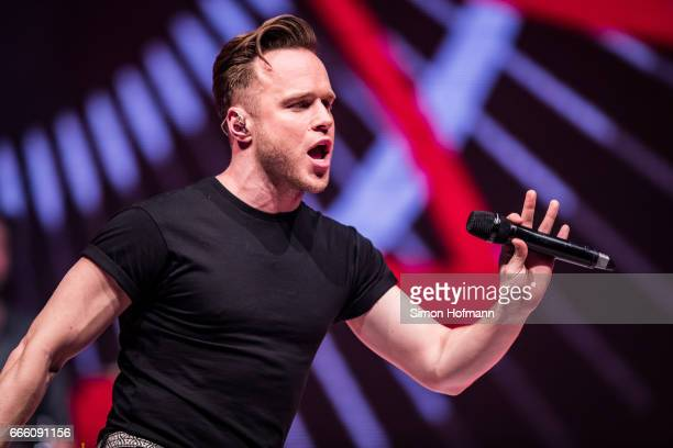 Olly Murs performs during the Radio Regenbogen Award 2017 at Europapark on April 7 2017 in Rust Germany