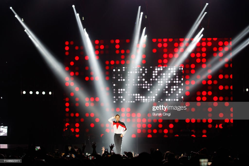 GBR: Olly Murs Performs At The O2 Arena
