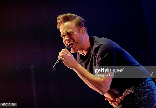 Olly Murs performs on stage during Metro Radio Christmas Live at Metro Radio Arena on December 16 2016 in Newcastle upon Tyne England