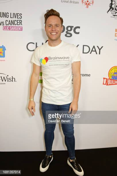 Olly Murs representing Brainwave attends BGC Charity Day at One Churchill Place on September 11 2018 in London England