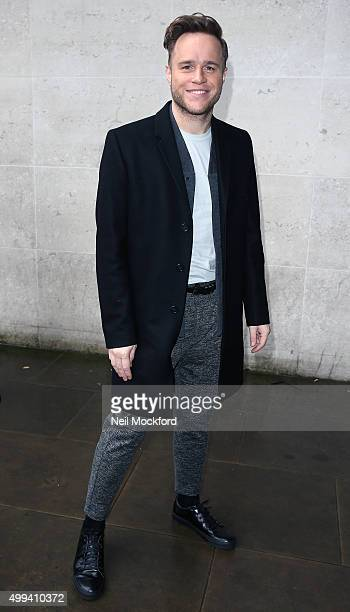 Olly Murs seen at BBC Radio One on December 1 2015 in London England