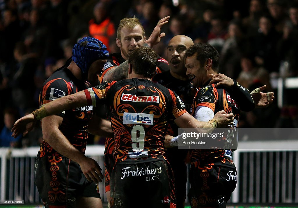 Exeter Chiefs v Bordeaux-Begles - European Rugby Champions Cup : News Photo
