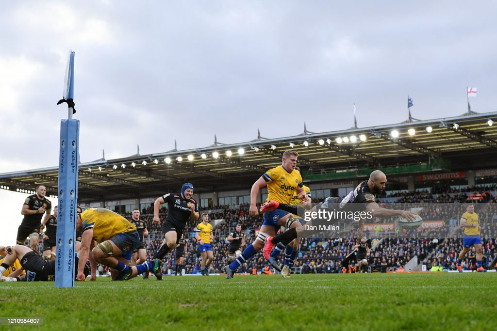 Exeter Chiefs v Bath Rugby - Gallagher Premiership Rugby : ニュース写真