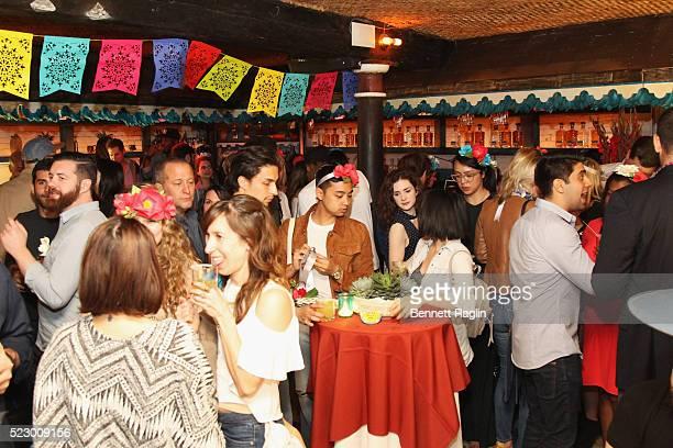 Olmeca Altos Tequila kicks off Cinco de Mayo celebrations early on April 21 2016 in New York City