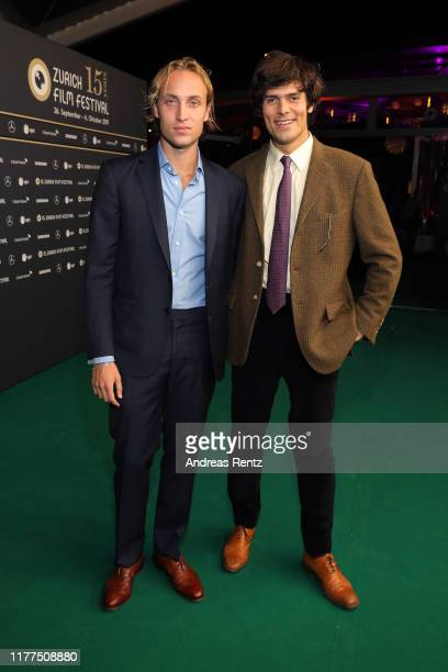 Olmo Schnabel and Grear Patterson attend the Giants Being Lonely photo call during the 15th Zurich Film Festival at Kino Corso on September 27 2019...