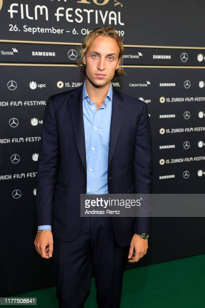 Olmo Schnabel attends the Giants Being Lonely photo call during the 15th Zurich Film Festival at Kino Corso on September 27 2019 in Zurich Switzerland