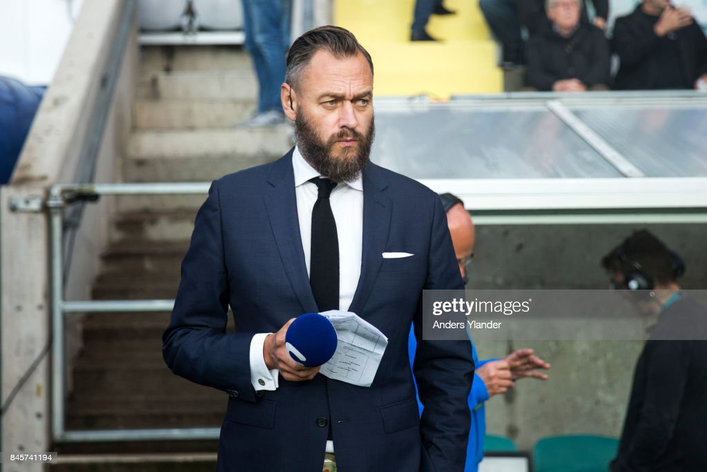 Olof Lundh Sports Journalist For Cmore Looks On Prior To The News Photo Getty Images