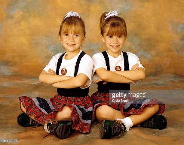 HOUSE Olsen twins gallery Season Seven 12/22/93 Mary Kate and Ashley Olsen