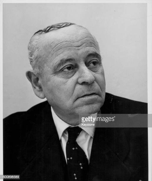 J Olshan President of the Supreme Court of Israel at the appeal of Adolf Eichman in Jerusalem March 22nd 1962
