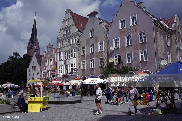 Olsztyn Polen Marktplatz
