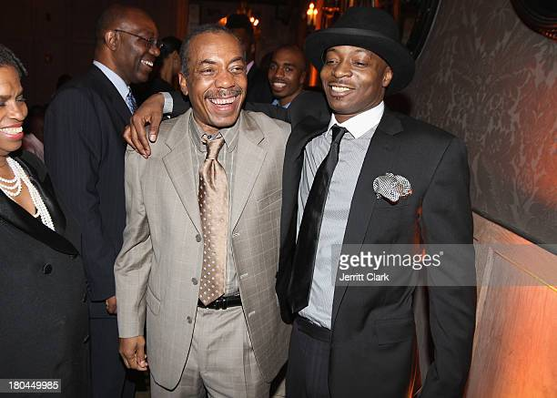 Olu Dara and Jungle attend Nas 40th Birthday Celebration Dinner And Party at Avenue NYC on September 12, 2013 in New York City.
