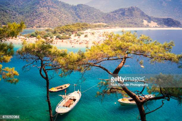 olu deniz, turkey - mediterranean culture stock pictures, royalty-free photos & images