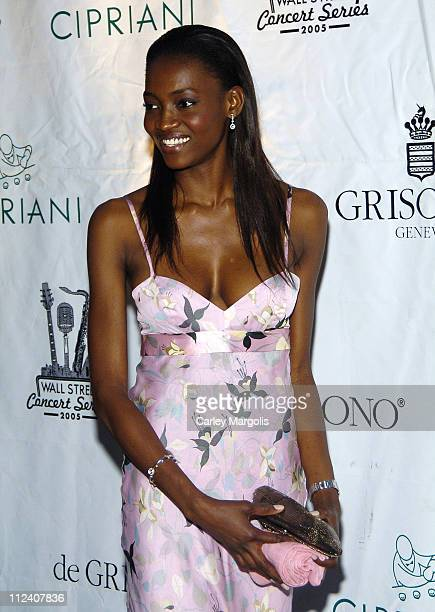Oluchi during 2005 Cipriani Wall Street Concert Series Featuring Alicia Keys at Cipriani Wall Street in New York City New York United States