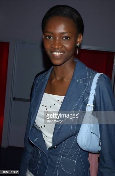 Oluchi during Express Preview of 'Art From the Waist Down' at Powder in New York City New York United States