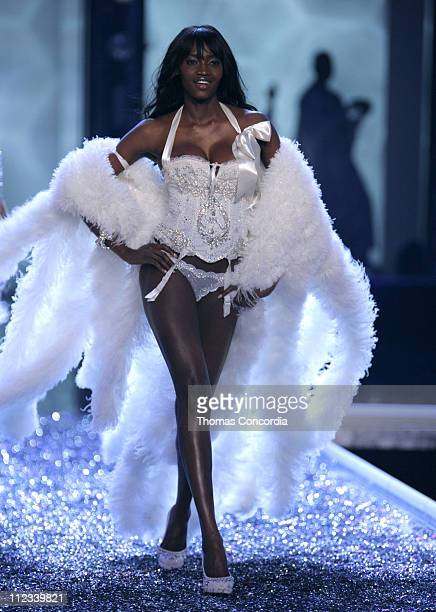 Oluchi Onweagba during 11th Victoria's Secret Fashion Show Runway at Kodak Theatre in Hollywood CA United States