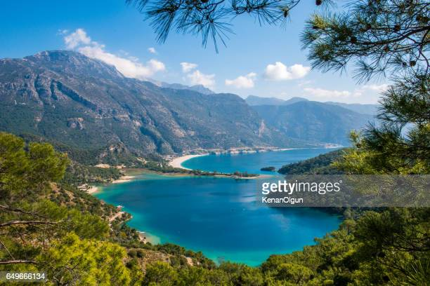 oludeniz - aegean turkey stock pictures, royalty-free photos & images