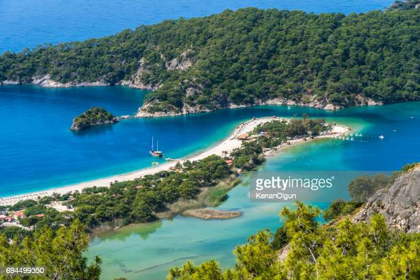 oludeniz. - aegean turkey stock pictures, royalty-free photos & images
