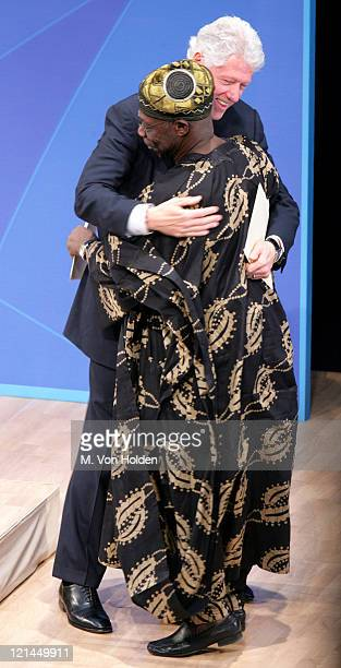 Olusegun Obasanjo Nigerian President and Bill Clinton