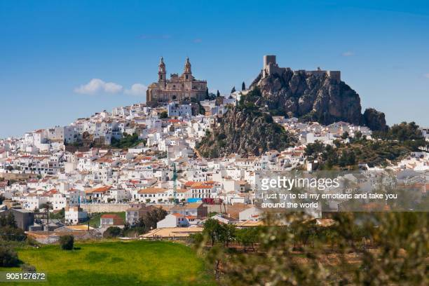Olvera is a white village in Cadiz province, Andalucia, Southern Spain