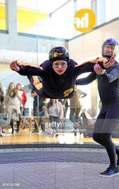Olvido Gara also known as Alaska attends Hurricane Factory on February 7 2018 in Madrid Spain