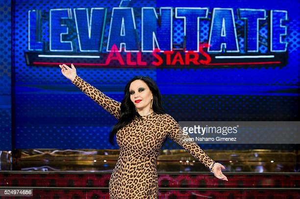 Olvido Gara attends 'Levantate All Star' photocall at Estudias Picasso on April 27 2016 in Madrid