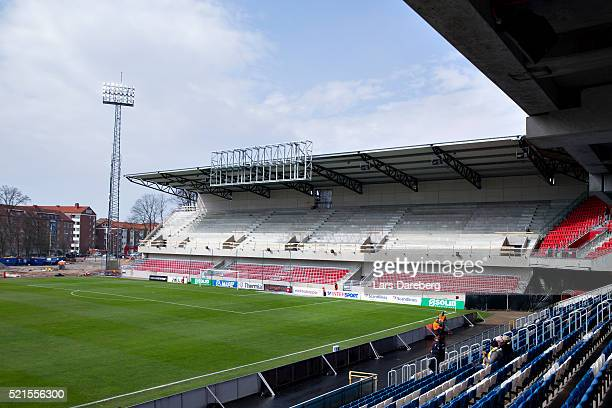 Olympen before the Allsvenskan match between Helsingborgs IF v Falkenbergs FF at Olympia on April 16 2016 in Helsingborg Sweden