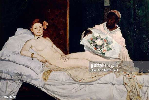Olympia by Edouard Manet oil on canvas 130x190 cm Paris Musée D'Orsay
