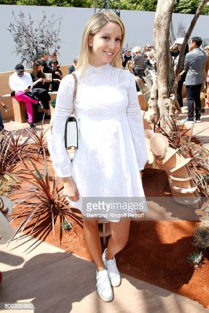 Olympia de Grece attends the Christian Dior Haute Couture Fall/Winter 20172018 show as part of Haute Couture Paris Fashion Week on July 3 2017 in...
