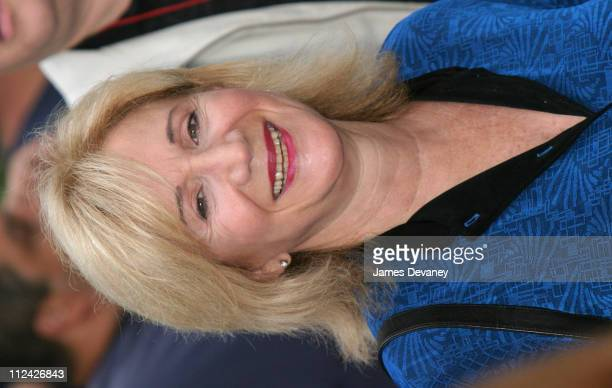 Olympia Dukakis during Celine Dion Performs on 'The Today Show' Summer Concert Series July 10 2003 at NBC Studios Rockefeller Plaza in New York City...