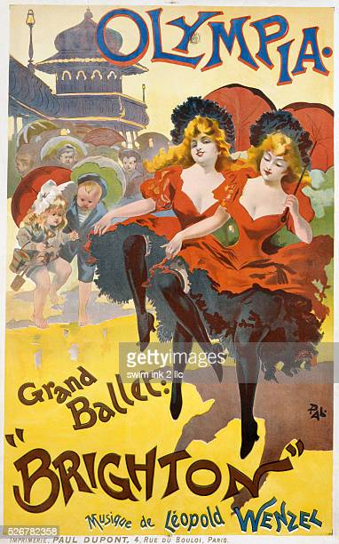 'Brighton' Poster Advertisement by Pal