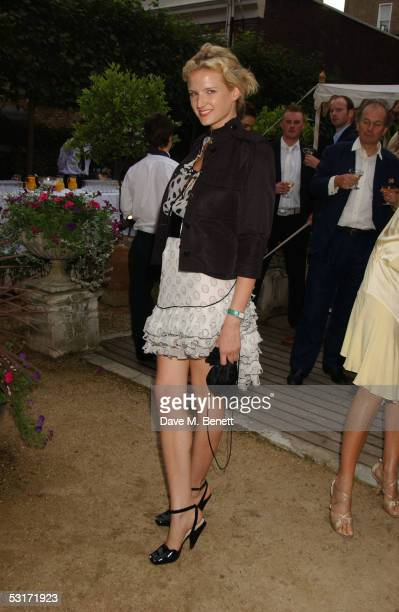 Olympia Scarry attends the annual Tatler Summer Party hosted hosted by Tatler editor Geordie Gregg and also celebrating the publication of their...