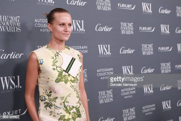 Olympia Scarry during the WSJ Magazine 2017 Innovator Awards at Museum of Modern Art on November 1 2017 in New York City