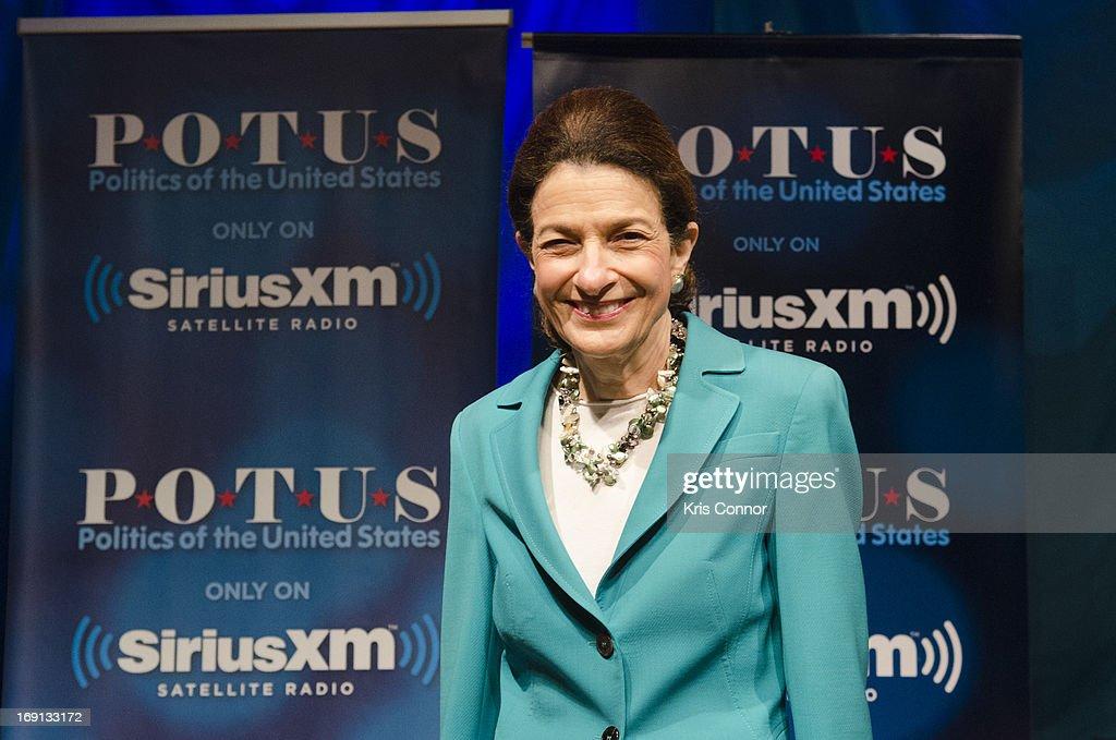 "Former Senator Olympia Snowe Visits The ""SiriusXM Leading Ladies"" Series"