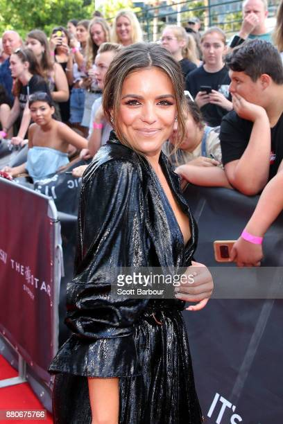 Olympia Valance arrives for the 31st Annual ARIA Awards 2017 at The Star on November 28 2017 in Sydney Australia