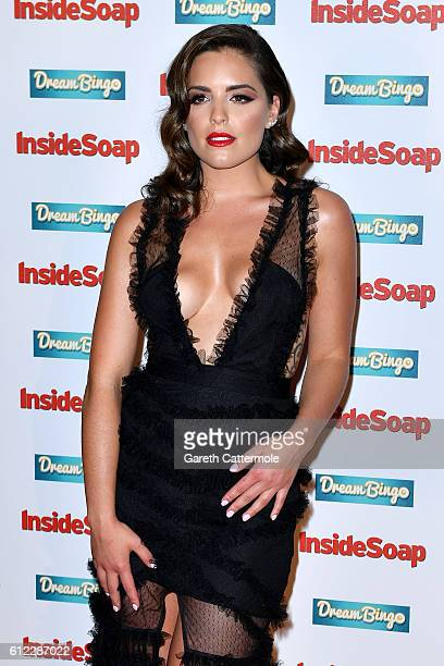 Olympia Valance attends the Inside Soap Awards at The Hippodrome on October 3 2016 in London England