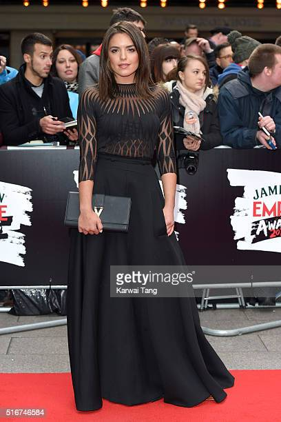 Olympia Valance attends the Jameson Empire Awards 2016 at The Grosvenor House Hotel on March 20 2016 in London England
