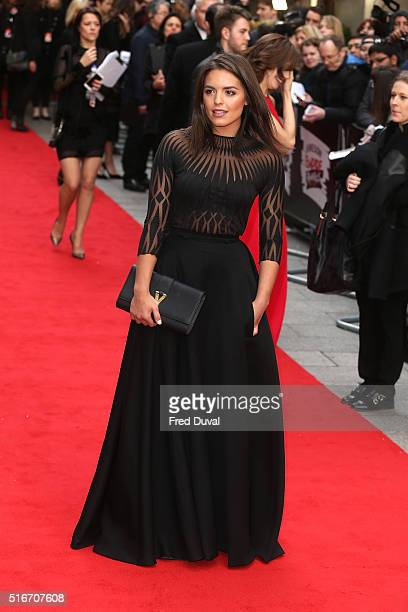 Olympia Valance attends the Jameson Empire Film Awards at Grosvenor House on March 20 2016 in London England