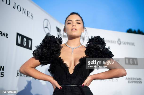 Olympia Valance attends the NGV Gala 2018 at National Gallery of Victoria on December 1 2018 in Melbourne Australia