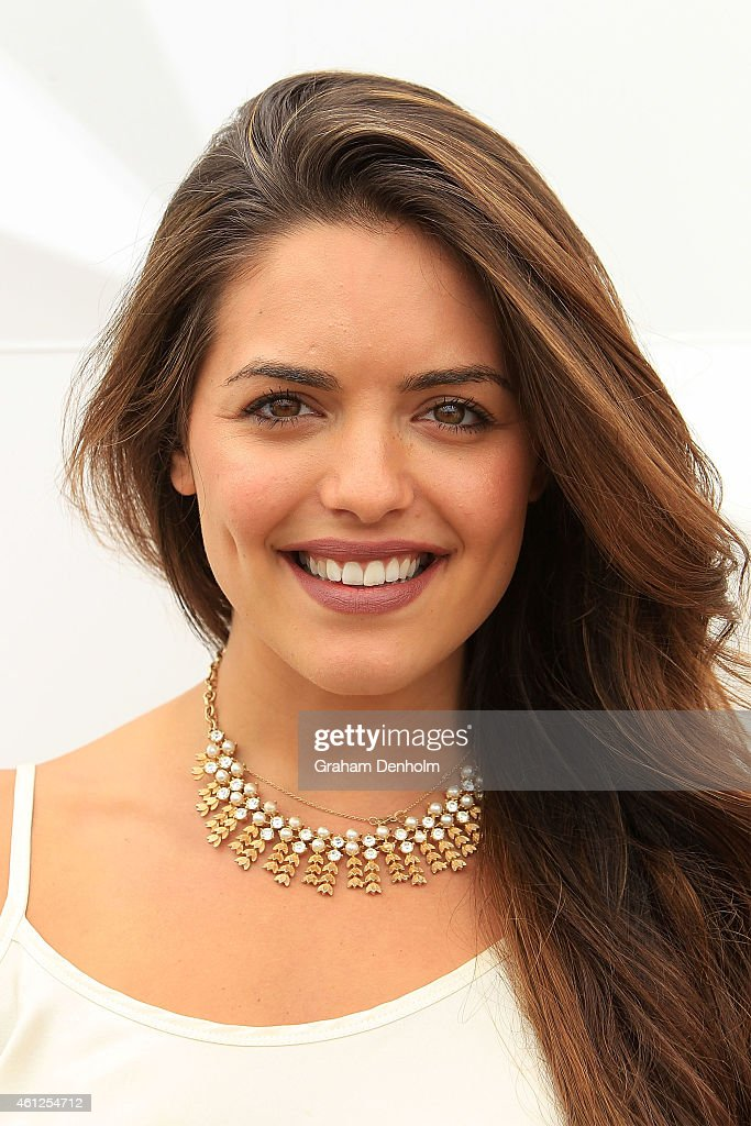 Olympia Valance attends the Portsea Polo event at Point Nepean Quarantine Station on January 10, 2015 in Melbourne, Australia.