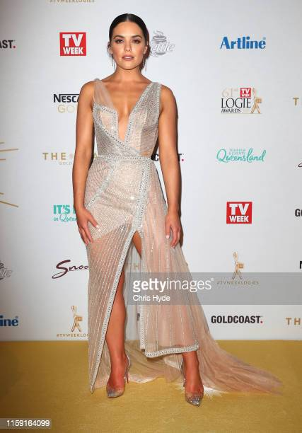 Olympia Vallance arrives at the 61st Annual TV WEEK Logie Awards at The Star Gold Coast on June 30 2019 on the Gold Coast Australia