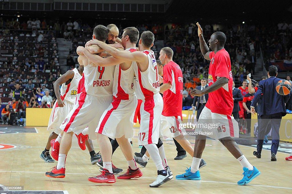 Turkish Airlines Euroleague Final Four Madrid 2015 - Semifinal B: CSKA Moscow vs Olympiacos Piraeus : News Photo