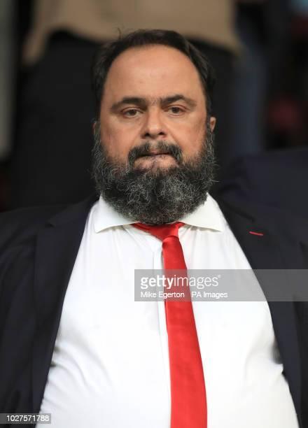 Olympiakos owner Evangelos Marinakis