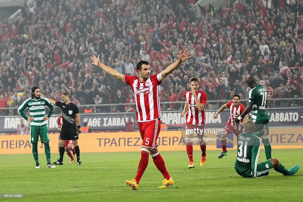 Olympiakos vs Panathinaikos : News Photo