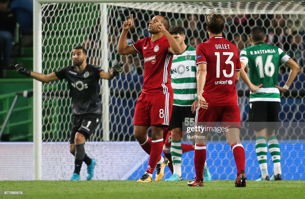 Sporting CP v Olympiakos Piraeus - UEFA Champions League : News Photo