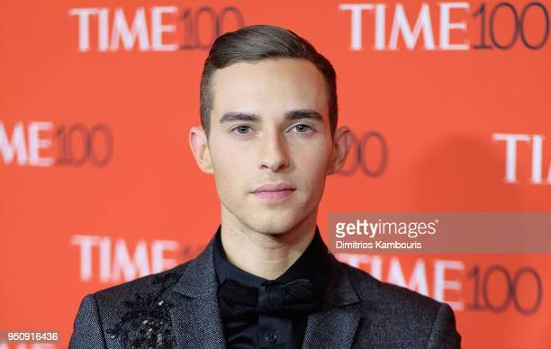 Olympian Adam Rippon attends the 2018 Time 100 Gala at Jazz at Lincoln Center on April 24 2018 in New York City