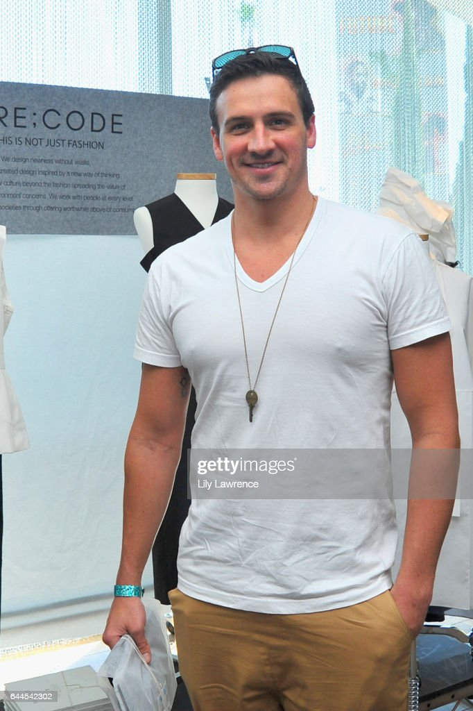 Olympian athlete Ryan Lochte attends Kari Feinstein's Pre-Oscar Style Lounge at the Andaz Hotel on February 23, 2017 in Los Angeles, California.