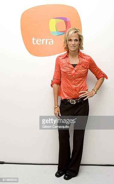 Olympian Dara Torres attends Orbita US 2009 at The New Museum on October 13 2009 in New York City